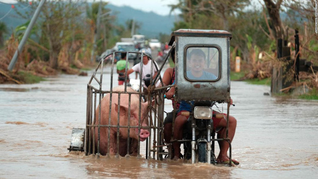 Philippines oằn mình giữa dòng nước lũ sau khi hứng chịu siêu bão Vamco khiến ít nhất 54 người chết, người dân chật vật ổn định cuộc sống - Ảnh 5.