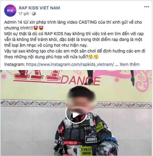 Rộ tin rapper từng diss Wowy và Karik tố chương trình Rap Kids sử dụng ca khúc không xin phép? - Ảnh 2.
