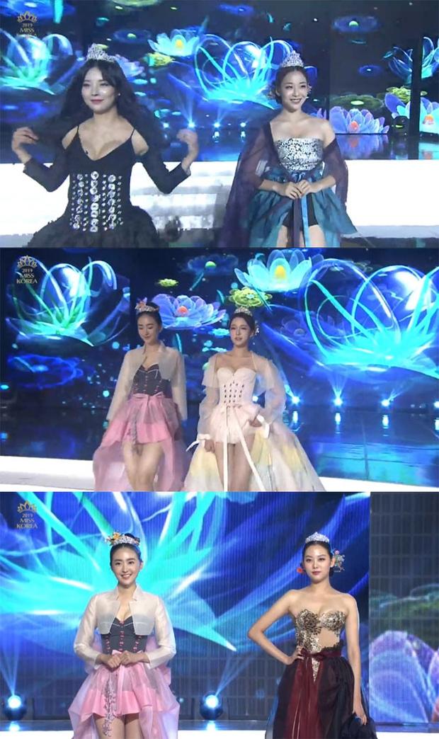 """Cuộc thi Hoa hậu Hàn Quốc bị """"ném đá"""" gắt nhất lịch sử: Thí sinh diện Hanbok như đồ bơi, """"bức tử"""" vòng 1 phản cảm - Ảnh 8."""