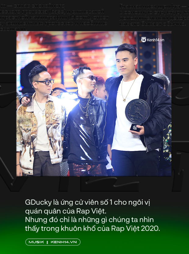 Tại sao Dế Choắt lại xứng đáng là nhà vô địch Rap Việt 2020? - Ảnh 2.