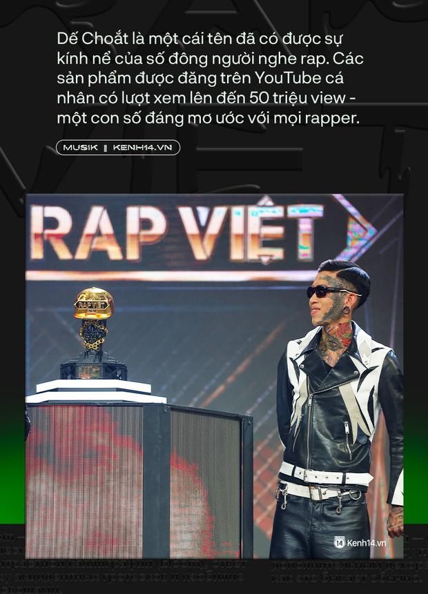 Tại sao Dế Choắt lại xứng đáng là nhà vô địch Rap Việt 2020? - Ảnh 3.