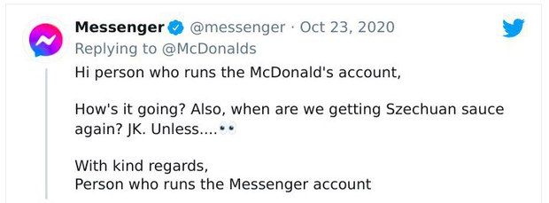 Microsoft, Facebook, Messenger... cùng nhau troll McDonalds trên Twitter, cư dân mạng được dịp hả hê, cười đau cả bụng! - Ảnh 6.