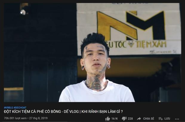 Trước Rap Việt, Dế Choắt đã sở hữu cả 1 gia tài âm nhạc đồ sộ: MV nào cũng triệu view, là chủ nhân của 2 bản nhạc phim nổi tiếng - Ảnh 11.
