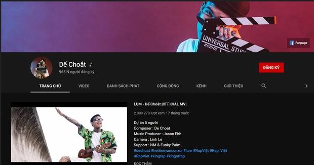 Trước Rap Việt, Dế Choắt đã sở hữu cả 1 gia tài âm nhạc đồ sộ: MV nào cũng triệu view, là chủ nhân của 2 bản nhạc phim nổi tiếng - Ảnh 12.