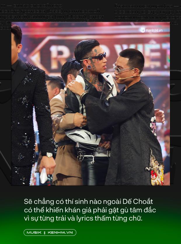 Tại sao Dế Choắt lại xứng đáng là nhà vô địch Rap Việt 2020? - Ảnh 6.