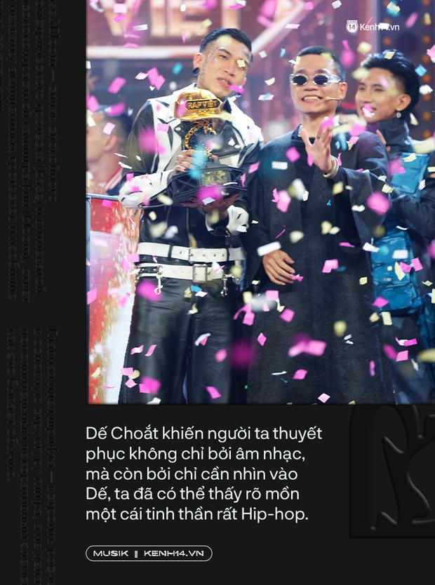 Tại sao Dế Choắt lại xứng đáng là nhà vô địch Rap Việt 2020? - Ảnh 8.