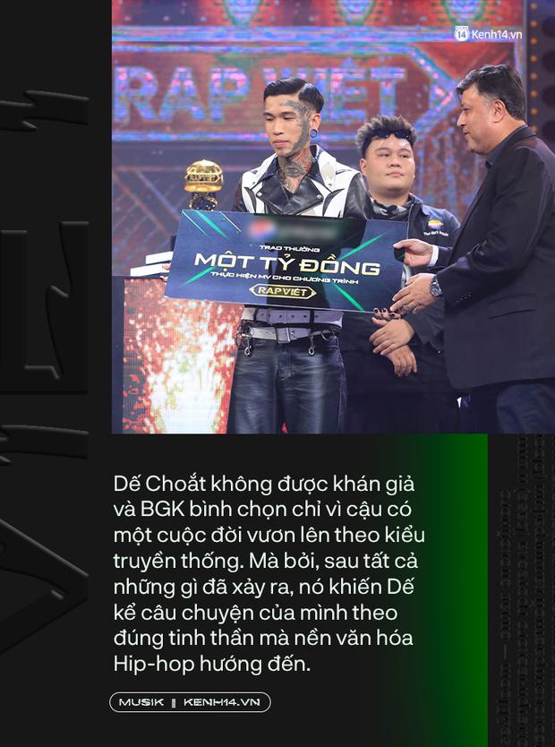 Tại sao Dế Choắt lại xứng đáng là nhà vô địch Rap Việt 2020? - Ảnh 9.