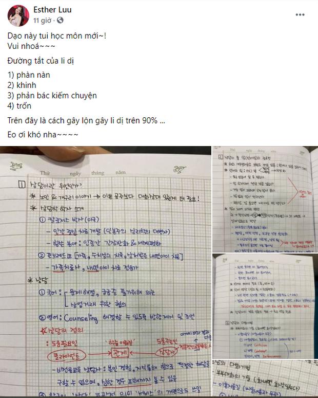 Hari Won khoe đang học môn mới, nhưng điều dân tình chú ý là chữ viết tay đều tăm tắp như đánh máy! - Ảnh 1.