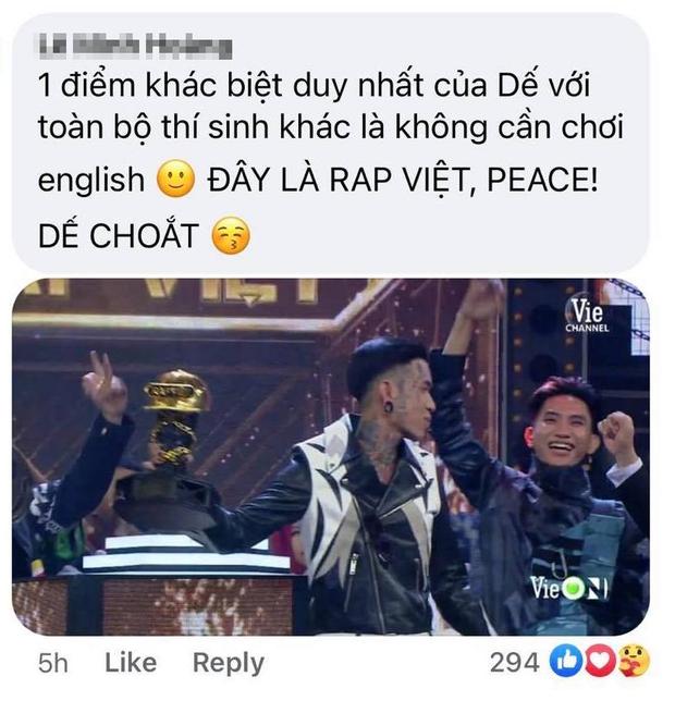 Điểm quyết định giúp Dế Choắt đăng quang: Là rapper thuần Việt từ tên gọi cho tới việc chỉ rap bằng tiếng mẹ đẻ - Ảnh 2.