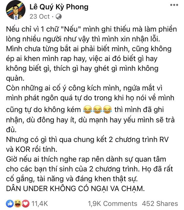 Torai9 giữ đúng lời hứa tung bản diss cả Rhymastic và JustaTee ngay sau Chung kết Rap Việt - Ảnh 3.