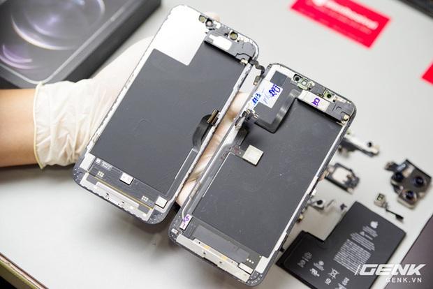 Mổ bụng iPhone 12 Pro Max tại Việt Nam: pin chữ L dung lượng 3.687mAh, camera sau vừa to vừa dài - Ảnh 14.