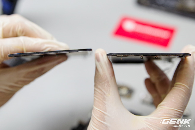 Mổ bụng iPhone 12 Pro Max tại Việt Nam: pin chữ L dung lượng 3.687mAh, camera sau vừa to vừa dài - Ảnh 15.