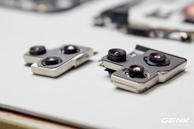 Mổ bụng iPhone 12 Pro Max tại Việt Nam: pin chữ L dung lượng 3.687mAh, camera sau vừa to vừa dài - Ảnh 18.