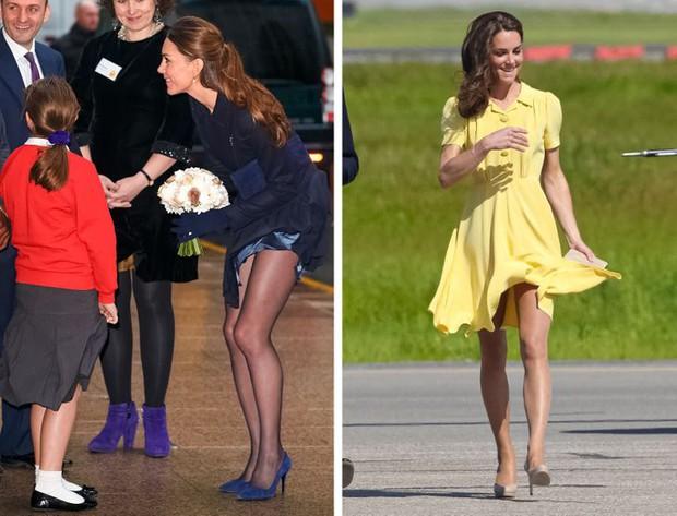 Tưởng luôn chuẩn mực nhưng có tới 10 lần Công nương Kate đã vi phạm quy định Hoàng gia Anh mà công chúng không ai hay biết - Ảnh 3.