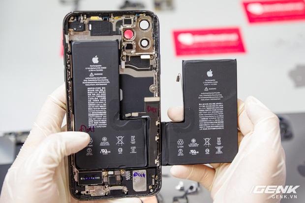 Mổ bụng iPhone 12 Pro Max tại Việt Nam: pin chữ L dung lượng 3.687mAh, camera sau vừa to vừa dài - Ảnh 23.