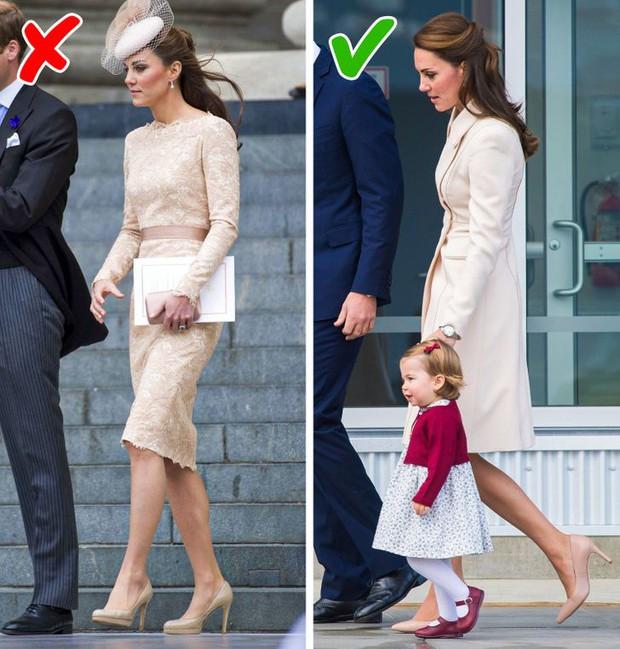 Tưởng luôn chuẩn mực nhưng có tới 10 lần Công nương Kate đã vi phạm quy định Hoàng gia Anh mà công chúng không ai hay biết - Ảnh 5.