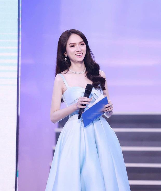 Lộ ảnh hiếm của Hương Giang tại sự kiện bị brand che mặt: Mặt hóp lại, body trơ xương đến mức stylist xót xa - Ảnh 2.