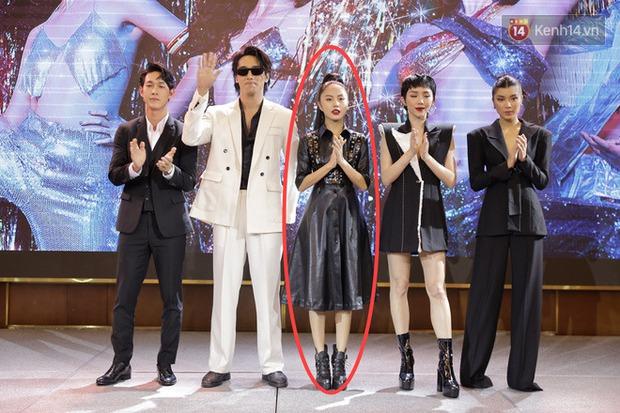 Là nữ chính Thanh Sói, Đồng Ánh Quỳnh lại bị kép phụ giật đẹp spotlight, ngậm ngùi ra rìa ở buổi họp báo - Ảnh 2.