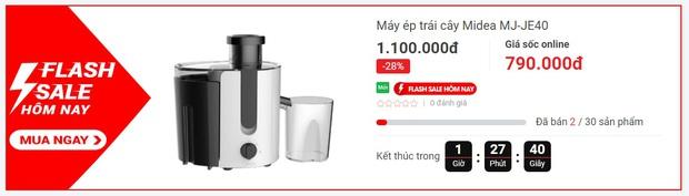 Hôm nay mua gì: Lò nướng giảm đến 70% cùng loạt nồi chiên không dầu và máy ép giá hời - Ảnh 3.