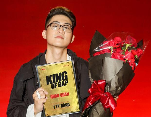 Dế Choắt (Rap Việt) nhận ít hơn ICD (King Of Rap) nửa tỷ tiền mặt, còn các giải thưởng khác thì sao? - Ảnh 6.
