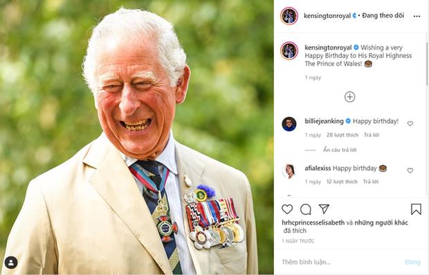 Thái tử Charles bước sang tuổi 72, hoàng gia thay nhau gửi lời chúc nhưng nhà Meghan Markle có hành động thiếu tinh tế, bị dư luận chỉ trích - Ảnh 2.