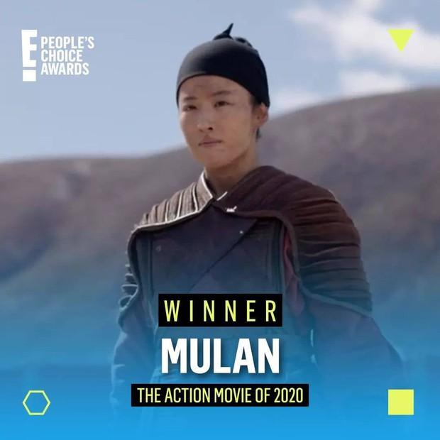 Bất ngờ chưa, Mulan xô ngã cả Tenet và bom tấn của Ngô Thanh Vân để chiếm trọn giải Phim Hành Động Của Năm? - Ảnh 1.