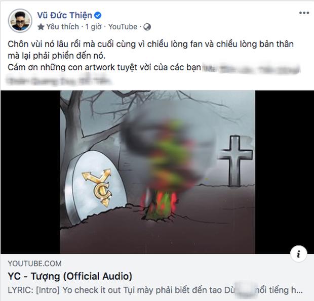 Torai9 tung tranh vẽ tay phản cảm để diss Rhymastic, giám khảo Rap Việt có động thái đáp trả ngay và luôn - Ảnh 3.