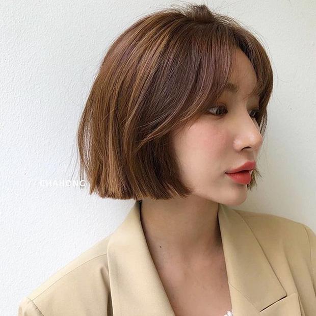 Stylist Hàn hé lộ 6 kiểu tóc ngắn cực sang mặt để các nàng tân trang nhan sắc trong 2 tháng cuối năm 2020 - Ảnh 12.
