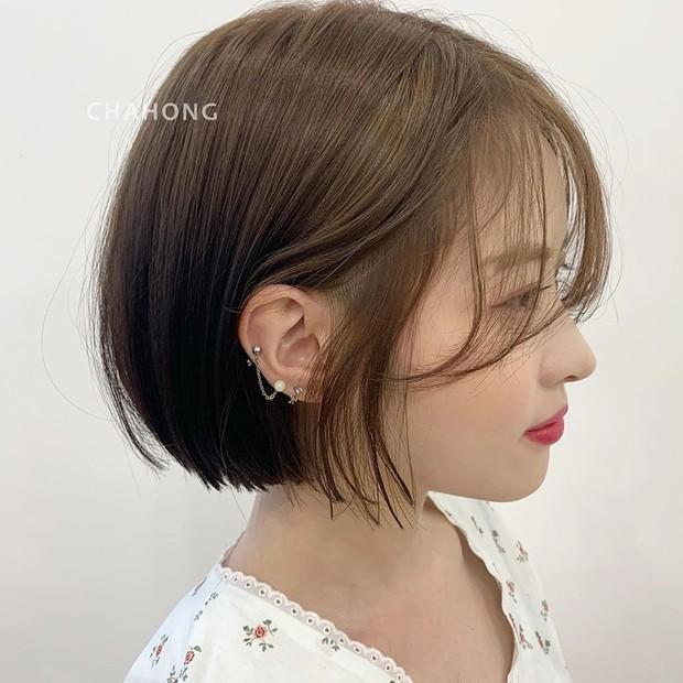 Stylist Hàn hé lộ 6 kiểu tóc ngắn cực sang mặt để các nàng tân trang nhan sắc trong 2 tháng cuối năm 2020 - Ảnh 4.