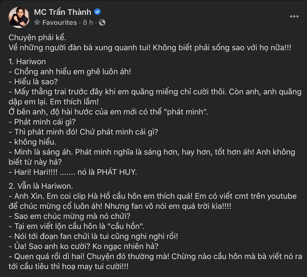 Hari Won bình luận về màn cầu hôn của Hà Hồ - Kim Lý, ai ngờ bị ném đá tơi bời đến mức Trấn Thành cũng phải bó tay - Ảnh 2.