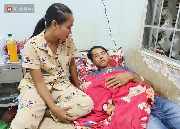 2 đứa trẻ đói ăn ở nhà chờ mẹ vào viện chăm cha bị tai nạn mà không đủ tiền chữa trị: Mẹ ơi, cha con đâu rồi - Ảnh 8.