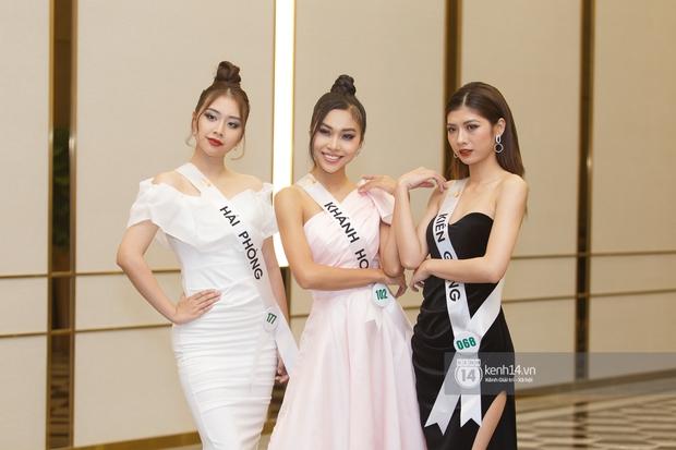 Ngọc Duyên tái xuất hậu tin đồn ly hôn chồng tỷ phú, Hoa hậu Khánh Ngân cùng dàn thí sinh đọ sắc cực căng tại Miss Tourism Vietnam 2020 - Ảnh 13.