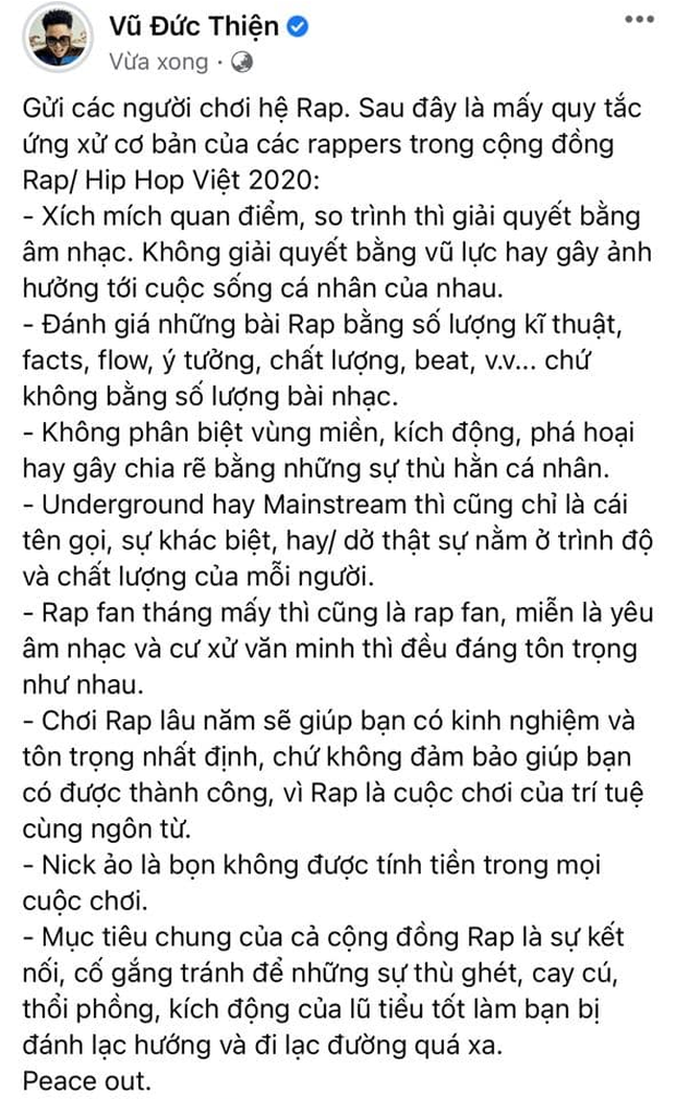 Sau tuyên bố rút khỏi giới rapper của Torai9, Rhymastic cũng đăng đàn... xin thua khép lại trận beef chóng vánh! - Ảnh 6.
