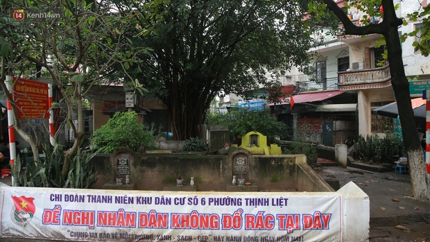 Cận cảnh nghĩa địa trong phố Hà Nội: Nơi người dân vẫn vô tư ăn uống, vui chơi bên cạnh mộ người chết - Ảnh 11.
