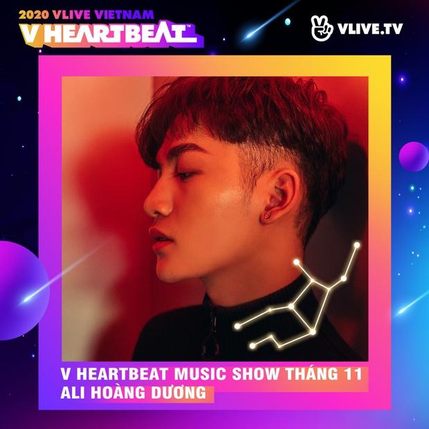 Dàn sao Việt sẽ mang loạt ca khúc mới nhất khuấy đảo V Heartbeat Live tháng này - Ảnh 4.