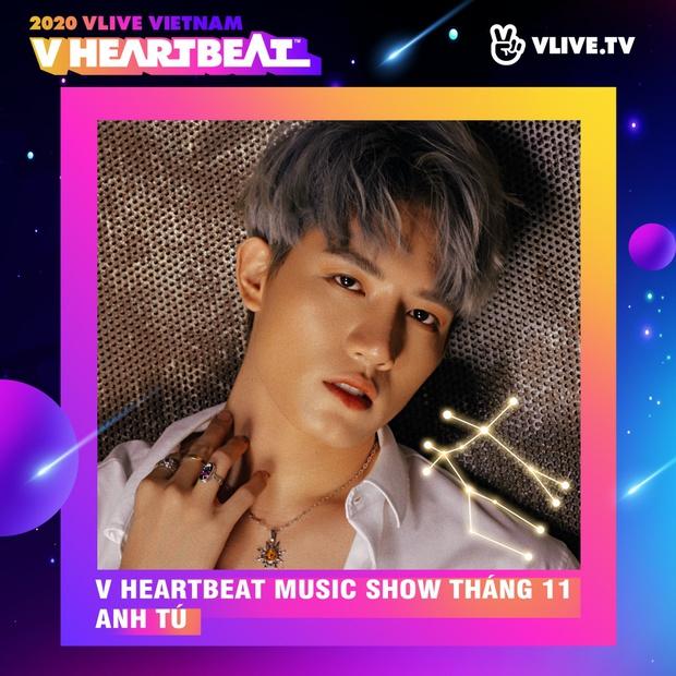 Dàn sao Việt sẽ mang loạt ca khúc mới nhất khuấy đảo V Heartbeat Live tháng này - Ảnh 5.
