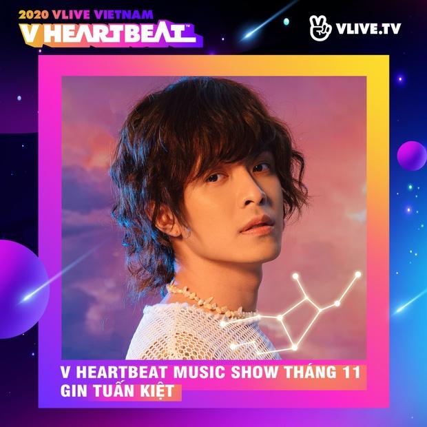 Dàn sao Việt sẽ mang loạt ca khúc mới nhất khuấy đảo V Heartbeat Live tháng này - Ảnh 6.