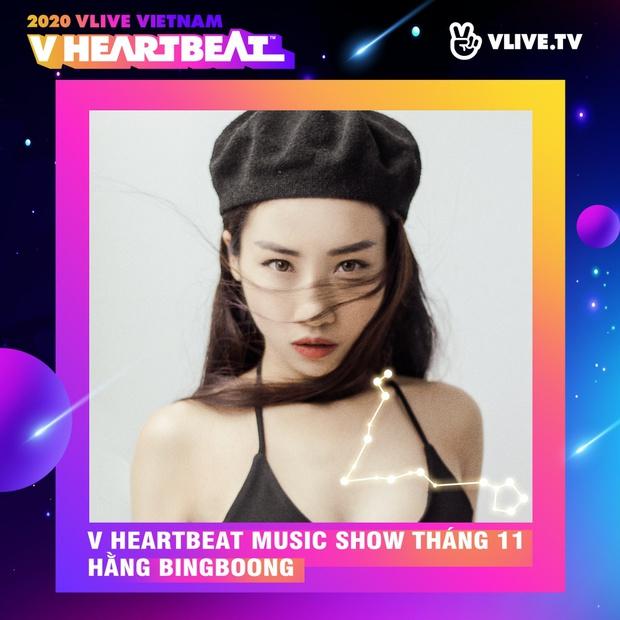 Dàn sao Việt sẽ mang loạt ca khúc mới nhất khuấy đảo V Heartbeat Live tháng này - Ảnh 9.
