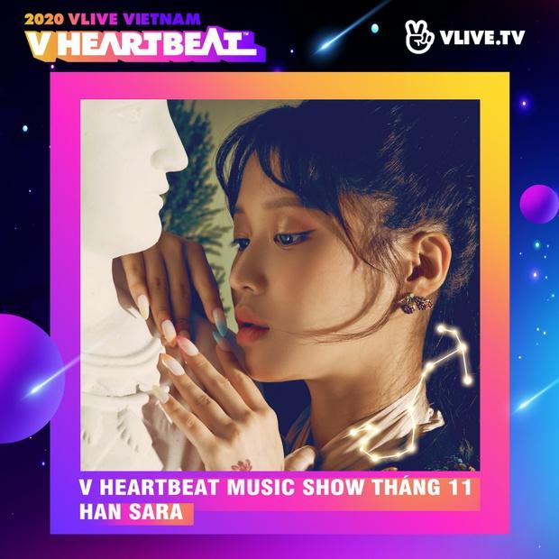 Dàn sao Việt sẽ mang loạt ca khúc mới nhất khuấy đảo V Heartbeat Live tháng này - Ảnh 7.