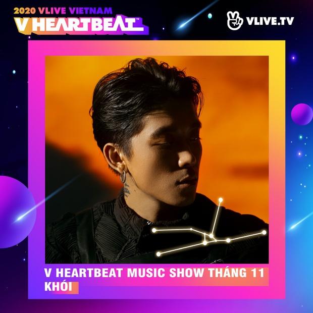 Dàn sao Việt sẽ mang loạt ca khúc mới nhất khuấy đảo V Heartbeat Live tháng này - Ảnh 10.