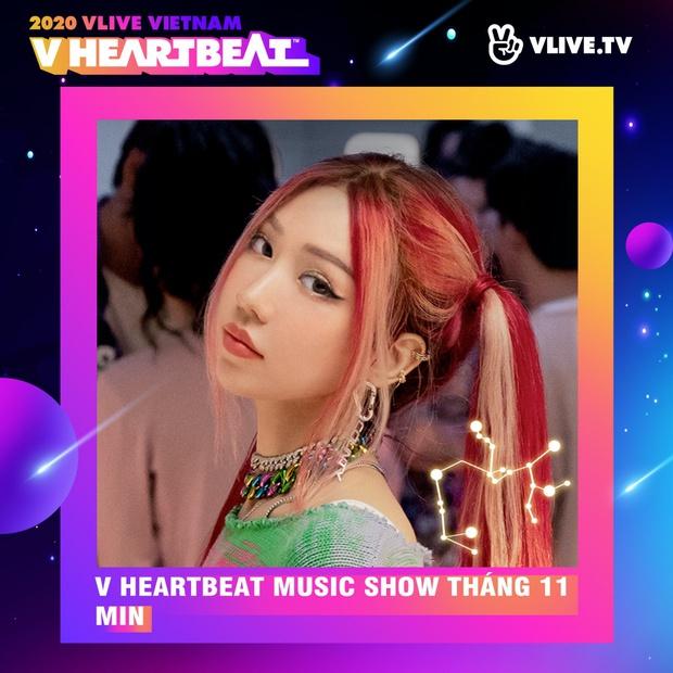 Dàn sao Việt sẽ mang loạt ca khúc mới nhất khuấy đảo V Heartbeat Live tháng này - Ảnh 1.