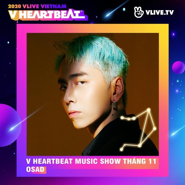 Dàn sao Việt sẽ mang loạt ca khúc mới nhất khuấy đảo V Heartbeat Live tháng này - Ảnh 11.