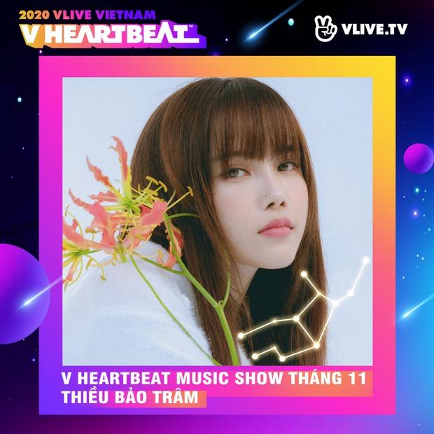 Dàn sao Việt sẽ mang loạt ca khúc mới nhất khuấy đảo V Heartbeat Live tháng này - Ảnh 3.