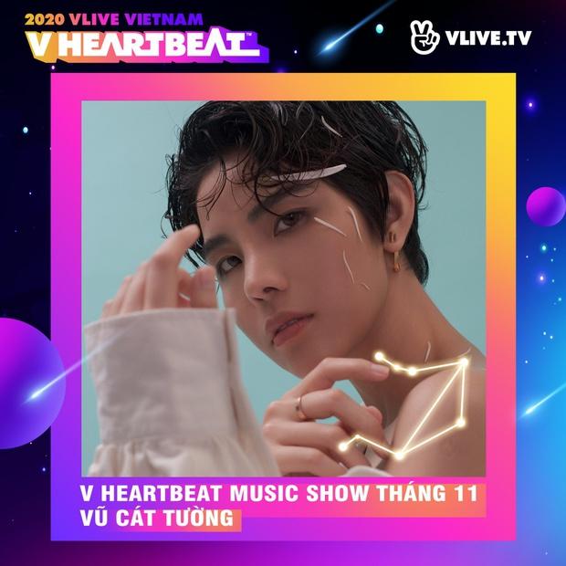 Dàn sao Việt sẽ mang loạt ca khúc mới nhất khuấy đảo V Heartbeat Live tháng này - Ảnh 2.