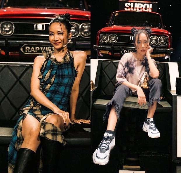 Có nữ nghệ sĩ ngồi ngay cạnh Suboi tại gala Rap Việt nhưng không được lên sóng, thậm chí có cả tiết mục kết hợp? - Ảnh 4.