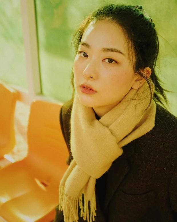 Seulgi (Red Velvet) thu về triệu tim chỉ nhờ bộ ảnh lá vàng mùa Thu, netizen tưởng hình tạp chí nhưng sự thật lại gây ngỡ ngàng - Ảnh 5.