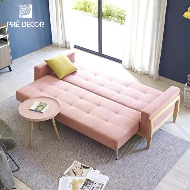 7 mẫu sofa giường từ 4,2 triệu cho phòng ốc gọn gàng nhỏ xinh - Ảnh 2.