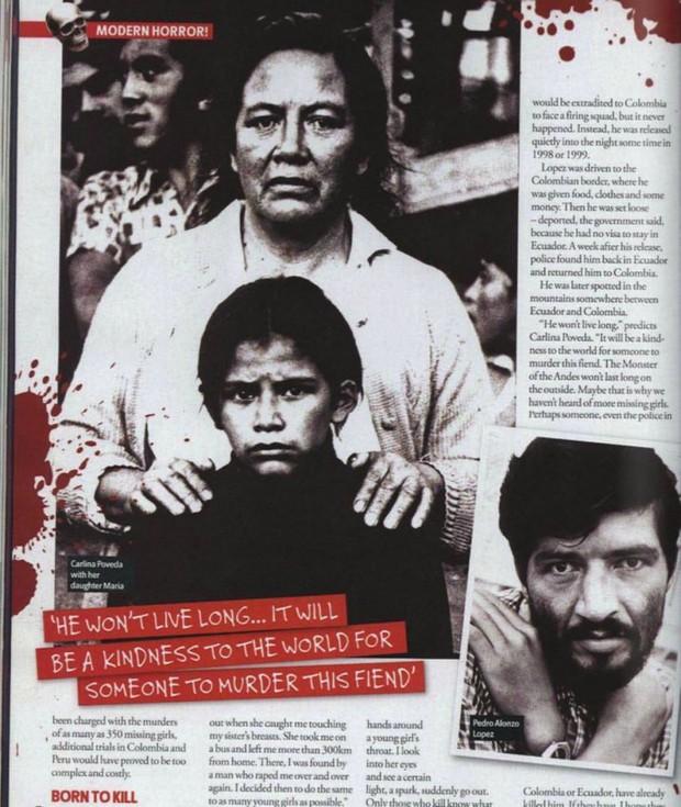 Quái vật dãy Andes: Gã ấu dâm hãm hiếp và sát hại hơn 300 bé gái khắp Nam Mỹ cùng bản án gây phẫn nộ tột đỉnh - Ảnh 2.