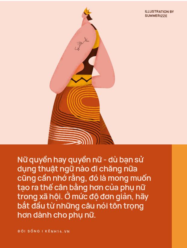 TLinh, Suboi và câu chuyện nữ quyền: Hãy bắt đầu từ những câu nói tôn trọng hơn khi nhắc về phụ nữ - Ảnh 1.
