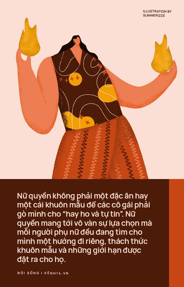 TLinh, Suboi và câu chuyện nữ quyền: Hãy bắt đầu từ những câu nói tôn trọng hơn khi nhắc về phụ nữ - Ảnh 2.